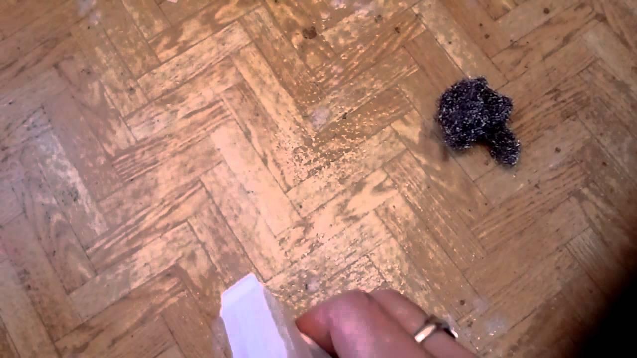 Как вывести въевшееся пятно на линолеуме фото