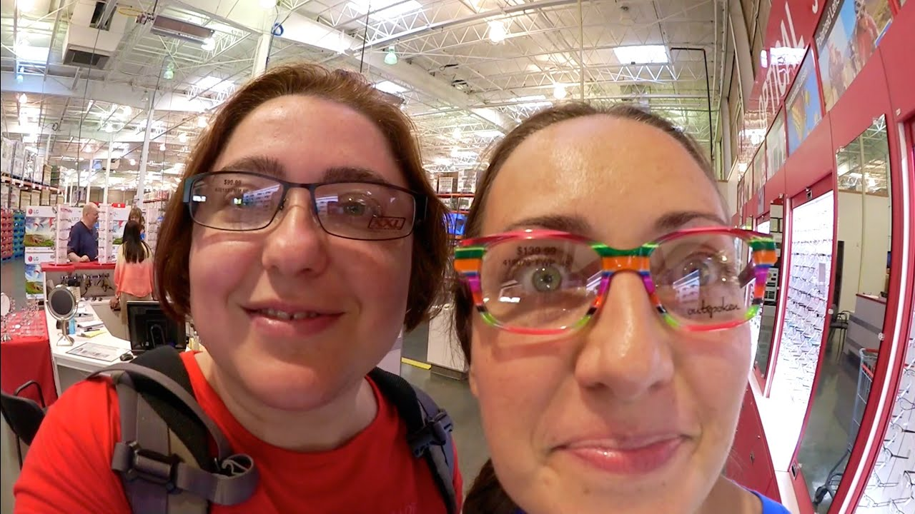 1ff85906fca Costco Eyeglasses Shopping And Costco Food Haul