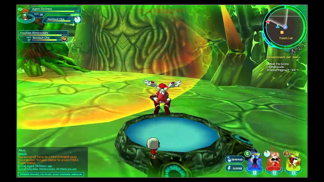 Last Boss    Lord Fuse  Fusionfall Hd