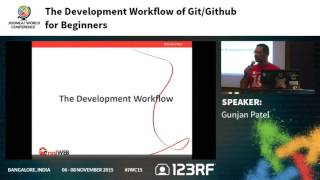 JWC15 - The development workflow of Git/Github for Beginners