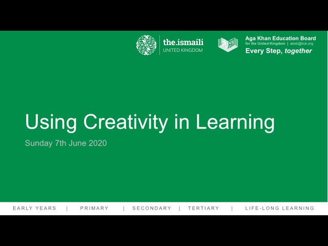 Primary Webinar - Arts and Crafts - AKEB