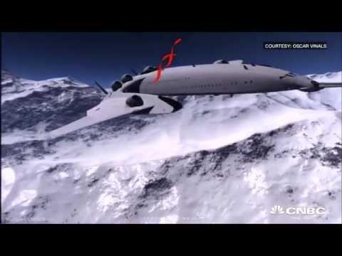 Supersonic plane to revolutionize travel? | CNBC International