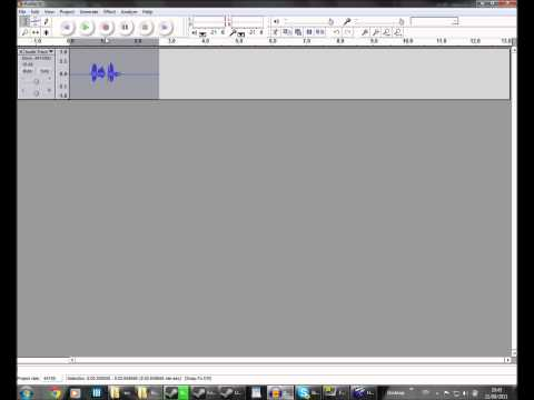 Radio voice effect in Audacity w/ commentary | Best Audio Editing & Recording FREE Software