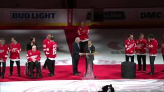 Honoring the 1997 Cup Champions: The introductions