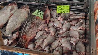 Цены на рыбу на Южном рынке в Анапе. #АНАПА #Витязево #Джемете - сентябрь 2018
