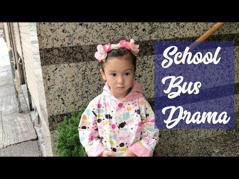 Family Vlog: SCHOOL BUS DRAMA!!