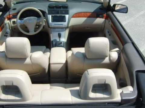 2007 Toyota Camry Solara Sle V6 Convertible Navigation