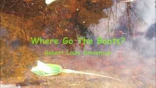 Where Go The Boats? a poem by Robert Louis Stevenson