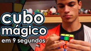 Renan Cerpe RESOLVENDO o CUBO MÁGICO em 9 SEGUNDOS