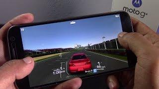 Moto G4 Plus, rendimiento en juegos