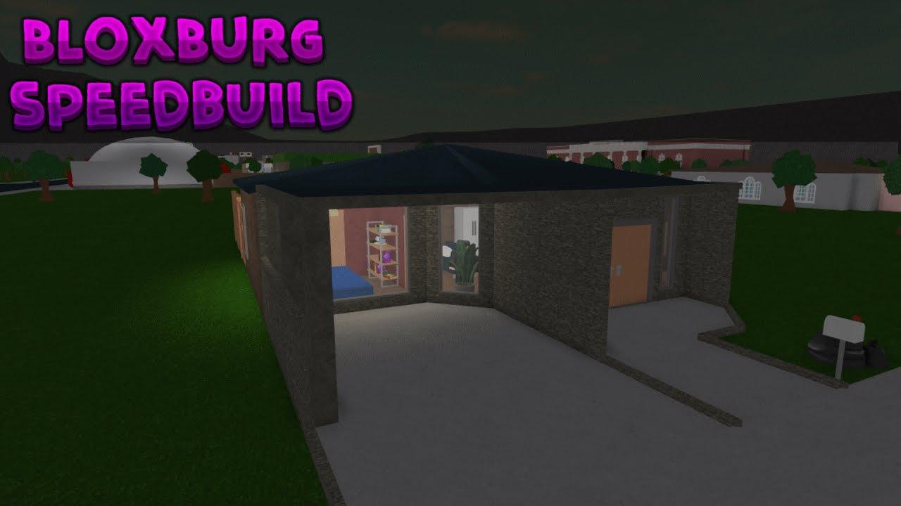 Roblox Bloxburg 15k Small Home Speedbuild Youtube