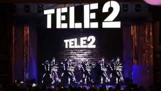 Световое шоу Теле2 Волгоград