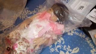 Обложка на видео о Распаковка Реборна и обзор посылок Алиэкспресс  Часть 1
