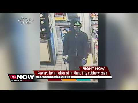 Police search for suspect who used machete during gas station robbery
