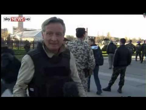 Russian Special Forces Storm Crimea Base