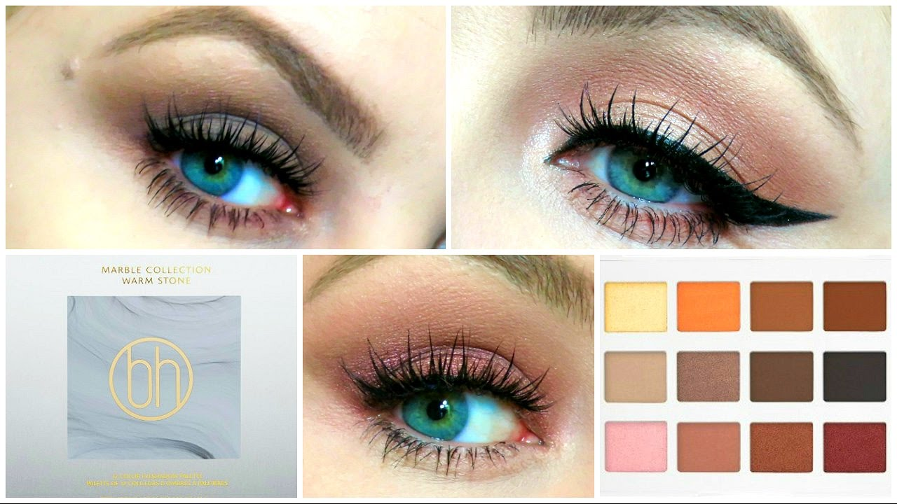 1 Palette 3 Looks Marble Collection Warm Stone Bh