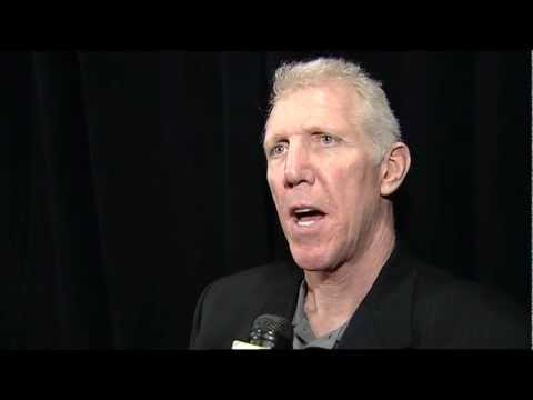 Bill Walton reacts to the resignation of Jerry Sloan