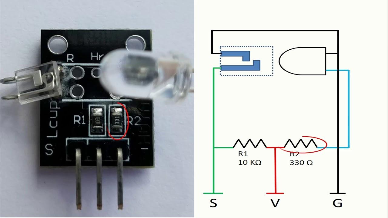 KY-039 Heart Beat Sensor Module