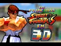 Os Primeiros Street Fighters em 3D!