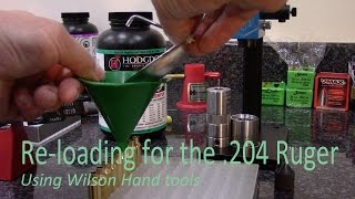 Re-loading using Wilson tools (.204)