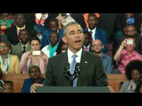 Obama Addresses Kenyan People - Full Speech