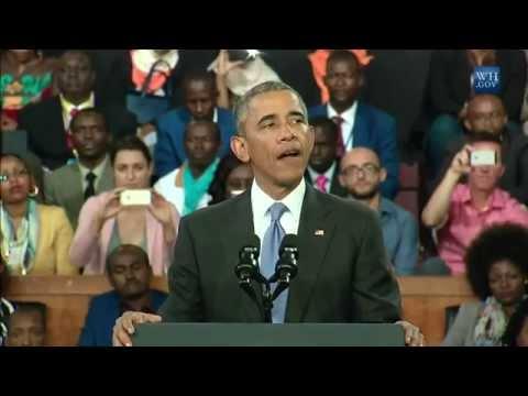 Obama - Great in Kenya