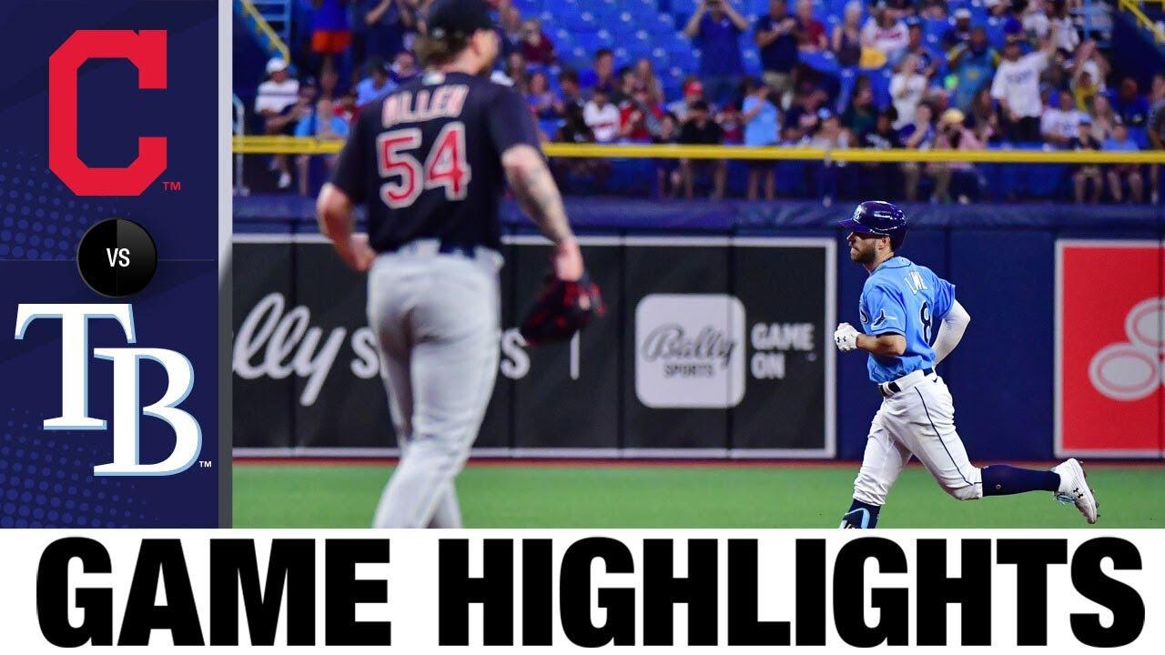 Indians vs. Rays Game Highlights (7/05/21) | MLB Highlights