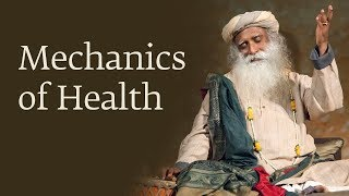 mechanics of health dr devi prasad shetty with sadhguru