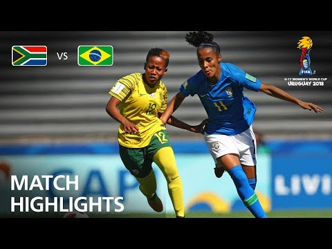 South Africa v Brazil  - FIFA U-17 Women's World Cup 2018™ - Group B