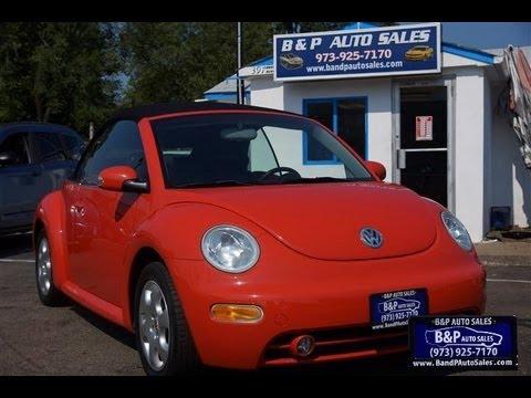 2003 Volkswagen Beetle 2.0 Convertible