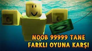 FAKİR NOOB 9999 TANE OYUNA KARŞI! - Roblox