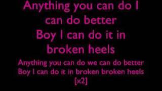 Alexandra Burke - Broken Heels Lyrics :D