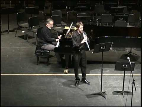 Michael Kaplan plays Sonata for Oboe by Camille Saint-Saens