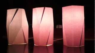 DIY home-made resin lampshade