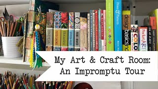 My Art and Craft Room: An Impromptu Tour