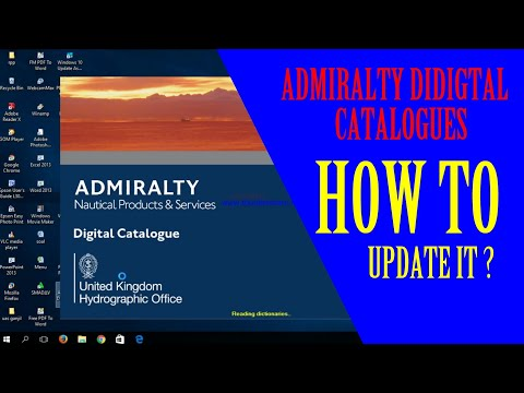 ADC - 3| How To Update Admiralty Digital Catalogues