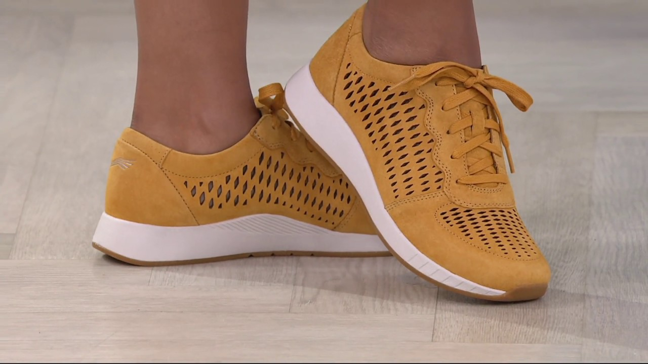 Dansko Suede Lace-up Sneakers - Charlie