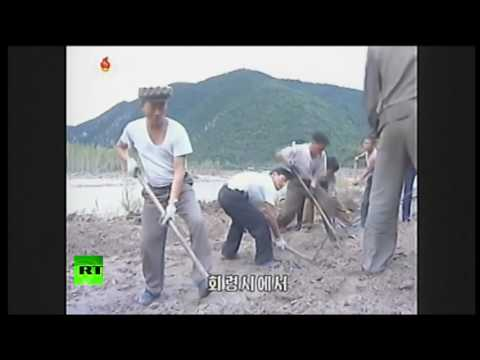 North Korea Flooding: dozens killed, thousands displaced, railways & roads damaged