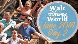 One of Adam Hattan's most viewed videos: Walt Disney World Day 2 Vlog | June 2016 | Magic Kingdom | Adam Hattan