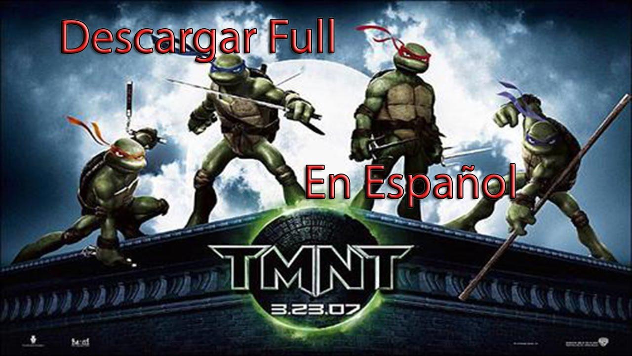 Como Descargar e Instalar Mutantes Tortugas Ninjas Game en