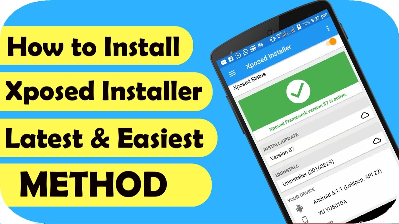 How to Install Xposed Framework😉(Android 6 0/5 1/5 0) LATEST & EASIEST  METHOD |TechSayyer