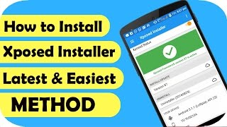 Gambar cover How to Install Xposed Framework😉(Android 6.0/5.1/5.0) LATEST & EASIEST METHOD |TechSayyer