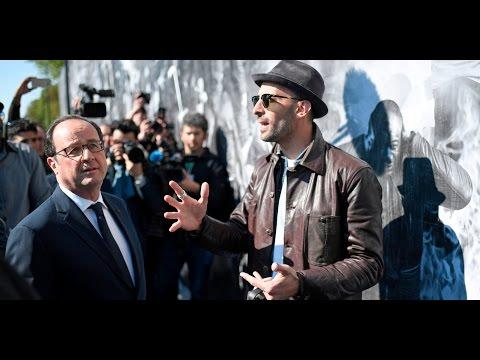 François Hollande, dernière visite dans le 93