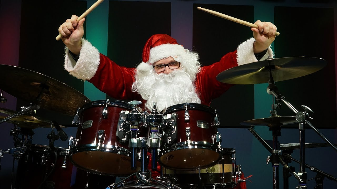 Christmas Drummer.Drumeo Staff Christmas Drum Collab 2017