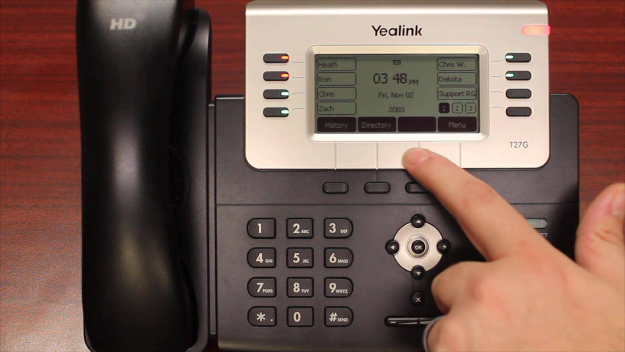 Yealink 27G Training for IPlex Phone System