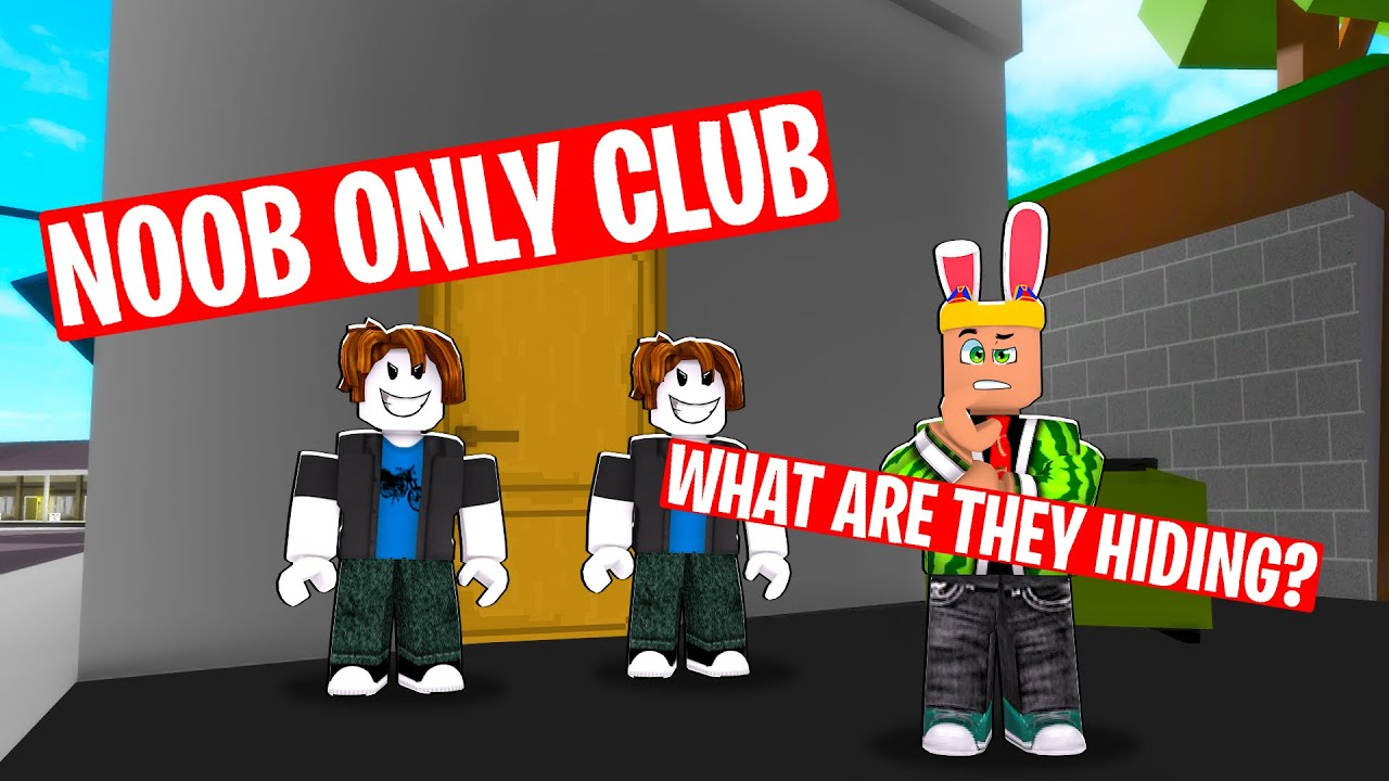 I found NOOB ONLY club....their EVIL plan SHOCKED ME (brookhaven rp)