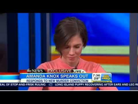 Amanda Knox Interview AFTER guilty verdict January 31 2014