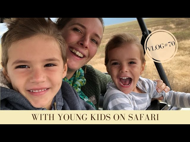 A Tanzania Safari with young children | Makasa Tanzania Safari | VLOG #70