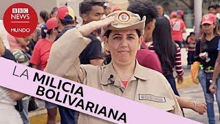 Así se prepara la milicia voluntaria de Venezuela