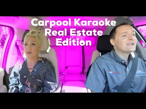 P!NK Carpool Karaoke, Real Estate Edition